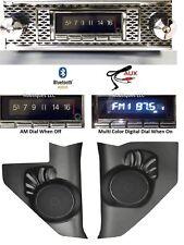 1955 Chevy Bel Air Bluetooth Stereo Radio + CAS Kick Panels USA 740