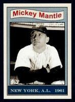MICKEY MANTLE. '61 NEW YORK YANKEES 50TH ANNIVERSARY #2 LIMITED EDITION NM-MINT