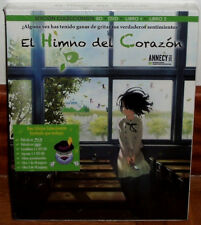 THE ANTHEM OF THE HEART EDITION COLLECTOR BR+DVD+2 BOOK NEW (UNOPENED) R2