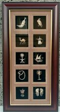 10 Square Framed Arabian Sterling Silver  great gift STERLING SILVER 925