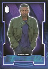 Doctor Who 2015 Blue Parallel [199] Base Card #38 Mickey Smith