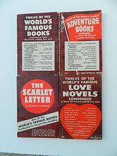 Complete Set of 4 Keep Worthy Vintage Paperbacks 1940s