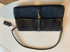 Coach Black Clutch Bag Handbag L3U-6348