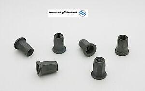 10 Stück Einziehmutter, Stahl, M 6, Sechskantschaft, VW / Audi N90252104