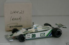 WESTERN MODELS SIGNED 1st VERSION - 1/43 SCALE WRK21 79 WILLIAMS FW007 REGAZZONI