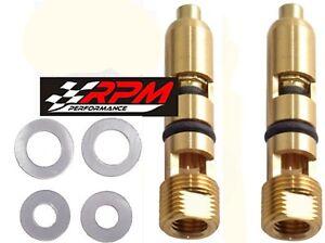 .110 Needle & Seat Holley Carburetor Viton Adjustable AED 6-504-2 A153X 2 PACK