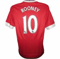 2015-2016 Manchester United Adizero #10 Rooney Player Issue Home Shirt, (*BNWT*)