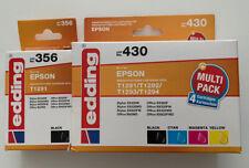 5x original edding 356 430 ersetzt epson T1295 T1291 T1292 T1293 T1294 OVP