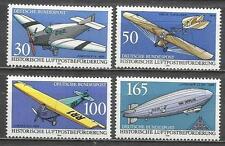 7517B-ALEMANIA SERIE COMPLETA AVIAZIONE AEREI,POSTA IN EVION E ZEPPELIN. 1991