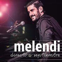 Directo A Septiembre - Melendi CD + DVD Set Sealed ! New !