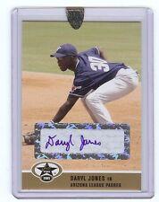 DARYL JONES Arizona League Padres 2005 Certified *GOLD* AUTOGRAPH RC xx/50