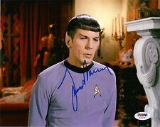 LEONARD NIMOY as MR SPOCK SIGNED 8X10 PHOTO #5 PSA/DNA STAR TREK ORIGINAL SERIES
