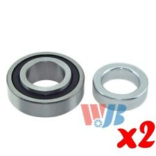 Pair of 2 New Rear Wheel Bearing with Lock Collar WJB WB88128RA Cross 88128RA