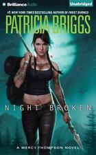 Mercy Thompson: Night Broken 8 by Patricia Briggs (2015, CD, Unabridged)