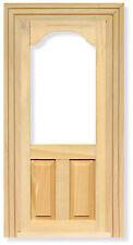 12A scala in legno vetro porta superiore ideale per bambole casa e le porte di fata