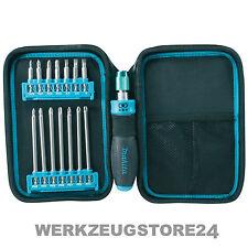 Makita P-90037 Ratschen und Bit-Set 16.tlg. inkl. Tasche