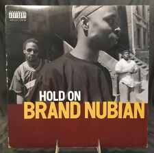 "BRAND NUBIAN- ""HOLD ON"" b/w ""STEP IN THE CIPHER"" - 12"" SINGLE, ELEKTRA # 0-66168"