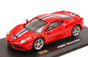 Signature Ferrari 458 Speciale 2014 Red 1:43 Burago BU36901