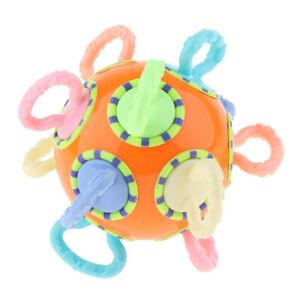 Beißring Baby Kleinkind Spielzeug Flexible Weiche Massagezähne (Farbe