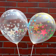 """10/20/30/50 Pcs transparents Ballons en latex Birthday Wedding Party Decor 12 """""""