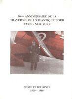 ENCART DE LUXE 50eme anniversaire de la traversée de l'atlantique nord