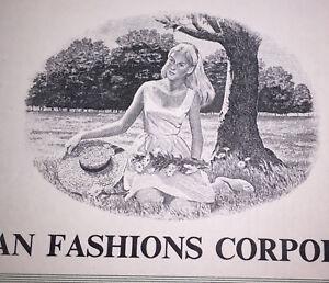 FASHION Puritan Fashions (Calvin Klein) 1982 SPECIMEN bond [stock certificate]