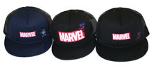 Marvel JAPAN BOYS Trucker Hat Cap Snapback- spider-man captain america
