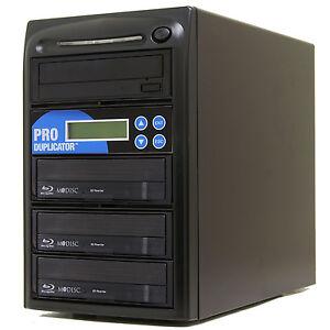 ProDuplicator 1-3 Blu-ray Burner Duplicator BD MDisc CD DVD Replication Tower