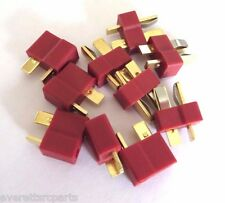 5 SETS DEANS T-PLUG Connectors 5 Male & Female Free USA Shipping!