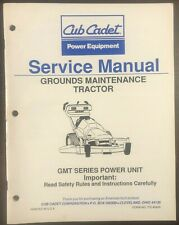 Cub Cadet Grounds Maintenance Tractor GMT Series Service Manual