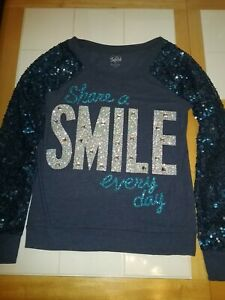 Justice Share A Smile Shirt Size 16 girls
