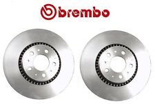 For Volvo S60 S80 V70 XC70 Pair Set of 2 Front Disc Brake Rotors 305mm Brembo