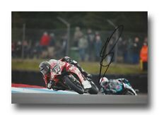 SCOTT REDDING HAND SIGNED 12X8 PHOTO - BSB AUTOGRAPH - BE WISER DUCATI 6.
