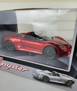 LollipopToys Porsche 918 Spyder Full Function Radio Control 1:24 Scale Red