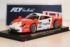 Slot car SCX Scalextric Fly 88164 Porsche 911 GT1 Evo 3H Sebring FIA GT 1997
