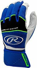 RAWLINGS WORKHORSE COMPRESSION STRAP BATTING GLOVES WORKCSBG ADULT SMALL ROYAL