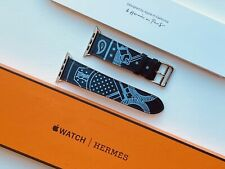 Apple Hermes Strap - 44/42mm Eperon d'Or Single Tour (Limited Edition) *RARE*
