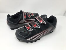 Pearl Izumi Men Select MTB 5769 Cycling Biking Shoes Black Red Sizr EUR 44 US 10