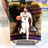"2019-20 Anthony Davis Panini Select Concourse #26 Los Angeles ""Lakers Rookie"" 📈"