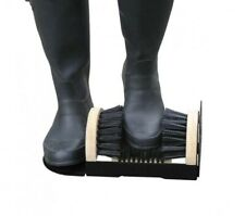 More details for garden wellie muddy boot shoes wellingtons mud dirt wiper cleaning brush