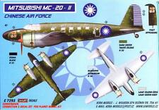 KORA Models 1/72 MITSUBISHI MC-20-II TOPSY Nationalist Chinese AF Resin Set