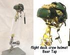 1/6 scale Flight deck crewman ( Green )   helmet as beer tap