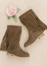 NWT Joyfolie Girl Willow Boots Brindle Size 6 youth 38 Women Winter Fall shoes
