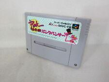 PINK PANTHER Super Famicom Nintendo Video Game Cartridge sfc
