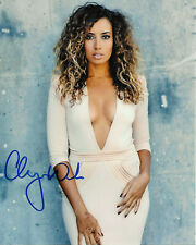 LPGA GOLFER CHEYENNE WOODS HAND SIGNED 8x10 PHOTO w/COA PROOF TIGER WOMEN'S GOLF
