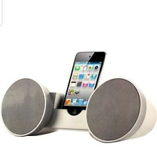 iWORLD ATOMIC AUDIO SYSTEM SPEAKER iPOD iPHONE MP3 & ANDROID COMPATIBLE BLACK