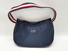 ROOTS OF CANADA NAVY BLUE NYLON SMALL PURSE - UNIQUE, QUIRKY - EUC