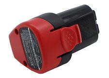 UK Battery for Metabo PowerMaxx 12 6.25439 10.8V RoHS