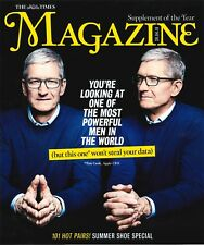 The Times : Tim Cook MANZANA CEO,CARLES PUIGDEMONT,Harry & Meghan Markle