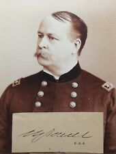 Civil War Medal Of Honor Recipient Union General William Joyce Sewell Autograph